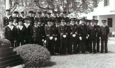 photo groupe équipage flore 1986