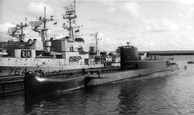 sous-marin expérimental le gymnote