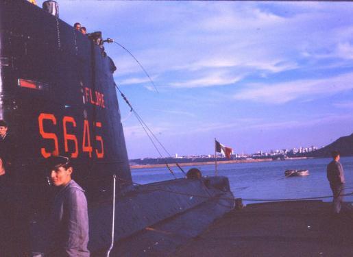 sous-marin Flore-S645