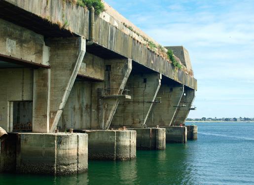 visite bunker sous-marin Flore-S645 Lorient