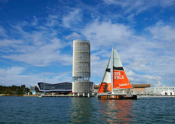The Cité de la Voile Eric Tabarly