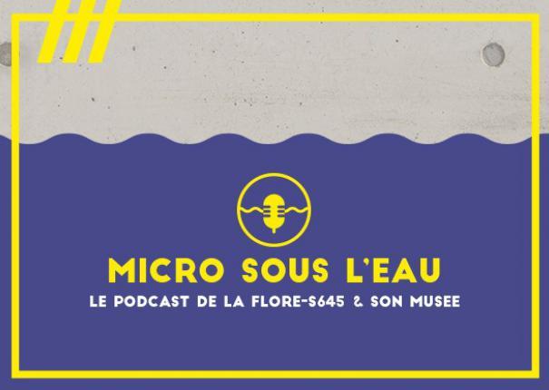 podcast sous-marin flore visuel générique
